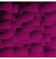Abstract purple Square background vector image vector image