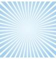 Blue sunlight background vector image