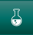 chemical test tube pictogram icon chemical lab vector image