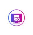 database maintenance service icon