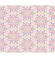 floral seamless pattern flourish tiled oriental vector image vector image