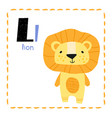 letter l funny alphabet for young children