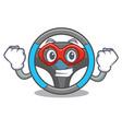 super hero steering wheel in the character shape vector image
