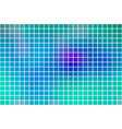 turquoise blue purple square mosaic background vector image vector image