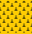 bearded man avatar pattern vector image vector image