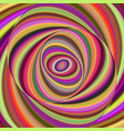 colorful ellipse digital art background vector image vector image