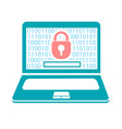 concept computer security vector image vector image