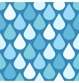 Elegant water drops seamless background vector image vector image