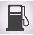 gas pump icon oil station icon vector image