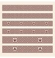 Greek ornament vector image vector image