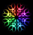 Neon element vector image vector image