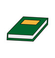 school book learn knowledge read vector image vector image