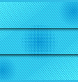 three comic blue horizontal banners vector image