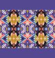 tribal turkish seamless pattern in bohemian style vector image vector image