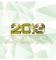 2013 heading vector image vector image