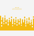 abstract of fresh yellow color stripe lines vector image