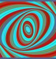 colorful ellipse digital art background vector image vector image