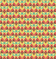 Graphic seamless colorful pattern Flat style vector image