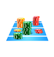 icon gamble vector image