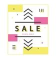 Mega Sale Banner vector image