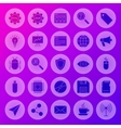 Solid Circle Web Computer Icons vector image vector image