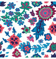 spring or summer floral blossom seamless pattern vector image vector image