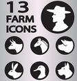 icon animal3 vector image