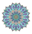 Isolated mandala pattern Vintage ethnic vector image