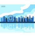 London Skyline vector image