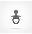 baby nipple icon vector image