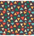 Background of triangles vector image vector image