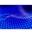 blue flow vector image
