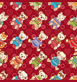child toy seamless pattern design element for vector image vector image
