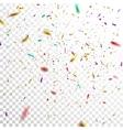 Colorful Confetti vector image vector image