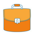 female elegant handbag icon vector image vector image