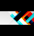 geometric abstract backgrounds with shadow lines vector image vector image