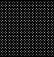 black and white polka dot seamless eps 10 vector image vector image