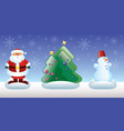 christmas and new year toys vector image vector image