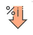 discount percent icon design 48x48 pixel perfect vector image
