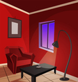Red Room vector image vector image