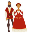 Renaissance style couple man and woman ball gown
