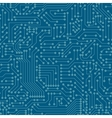 Seamless pattern Computer circuit board vector image
