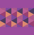 simple 60s vivid geometric seamless pattern vector image
