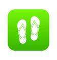 slates icon digital green vector image
