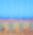 Abstract blurred landscape background with wooden vector image