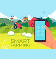 agriculture technology in smartphone smart farm