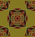 colourful ethnic seamless pattern background vector image vector image