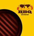 delicious barbecue vector image vector image