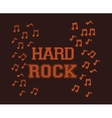 Hard Rock design vector image