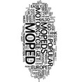 mopeds text background word cloud concept vector image vector image